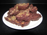 Banana toffee Brownies